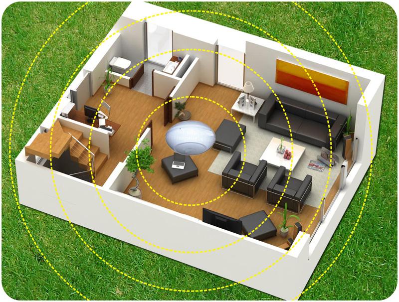 Dispositivo invertitore di polarit umidit di risalita antimuffa deumidificazione - Umidita in casa soluzioni ...